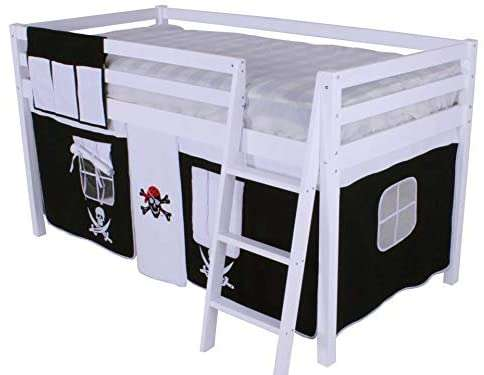 Pirate Mid Sleeper Bed