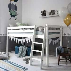White Pine Midsleeper Cabin Bed