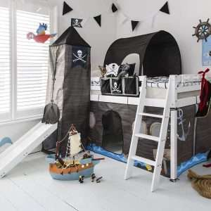 Noa & Nani Pirate Midsleeper Bed