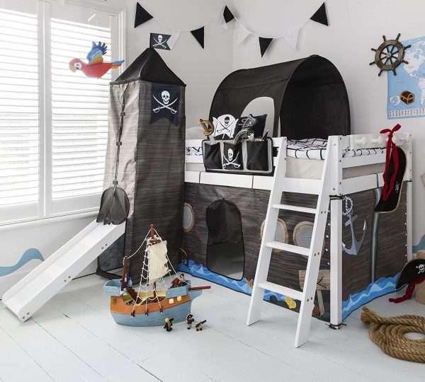 Noa & Nani Pirate Midsleeper Bed
