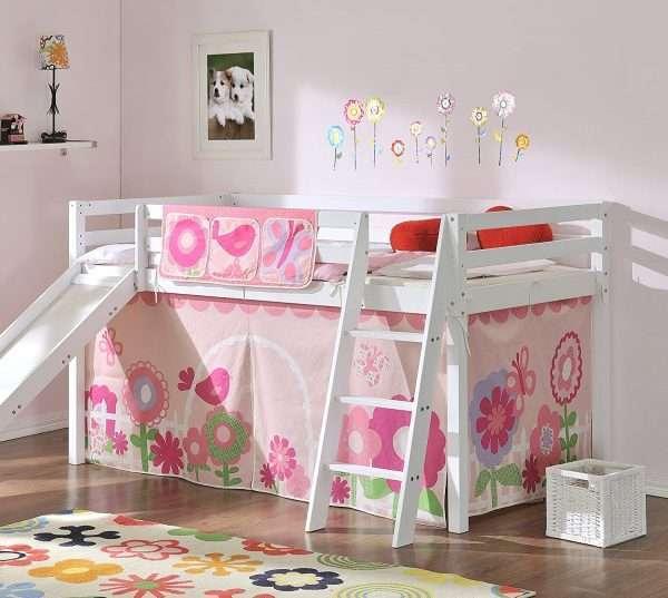 Noa & Nani Midsleeper Cabin Bed Floral