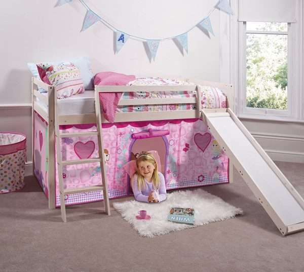 Noa and Nani - Midsleeper Cabin Bed with Slide