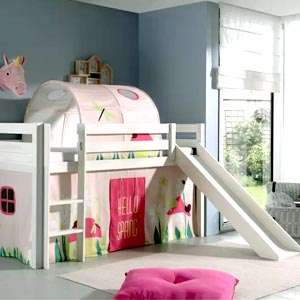 Mid Sleeper Beds with Slide