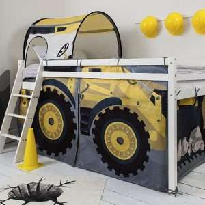 Midsleeper Bed With Diggers Tent